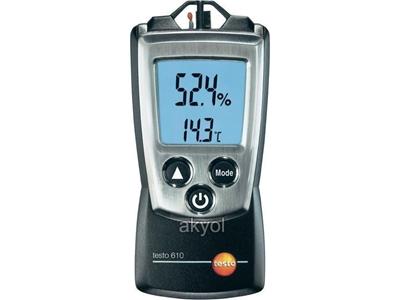 Seyyar Nem Ve Sıcaklık Ölçüm Cihazı Testo T610