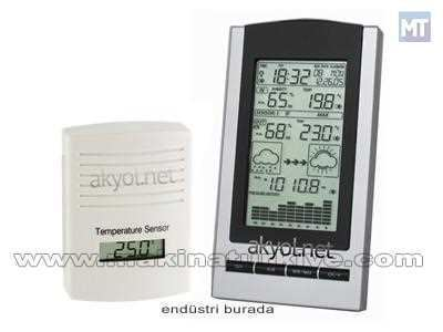 Gaia Dijital Barometre, Termometre Ve Higrometre