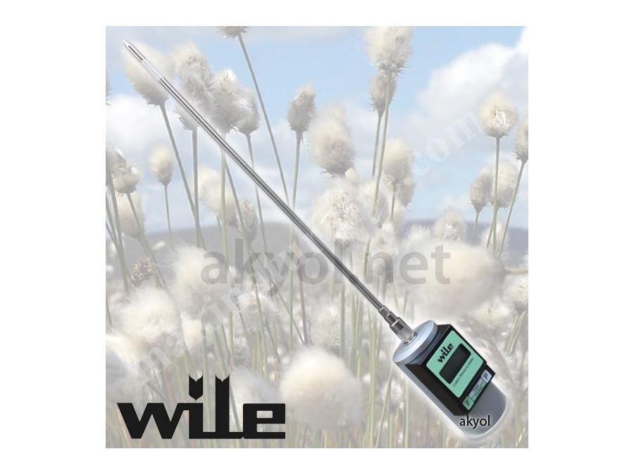 Wile Cotton Pamuk Balyası Nem Ölçer