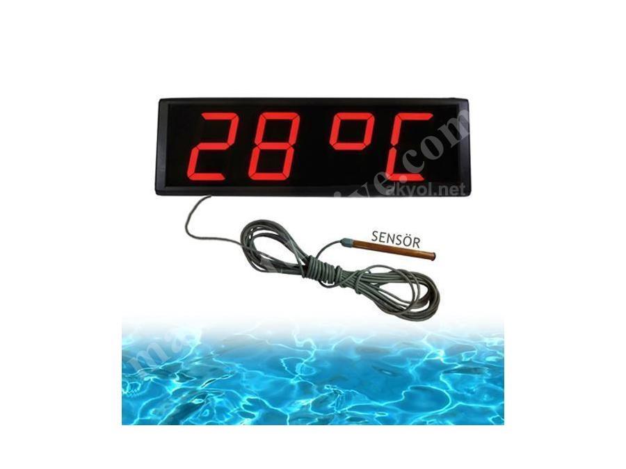 10 Cm Kapalı Ortam Havuz Suyu Sıcaklığı Ölçer