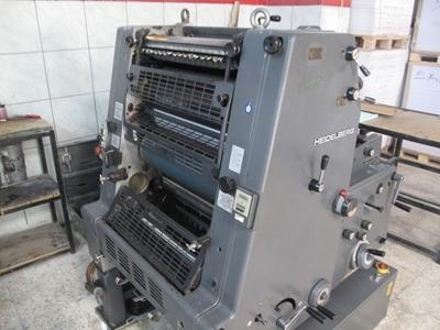 1 Renk Ofset Baskı Makinası Gto52-1