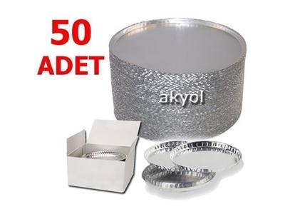50 Adet Moc63 Nem Tayin Cihazının Alüminyum Numune Kabı