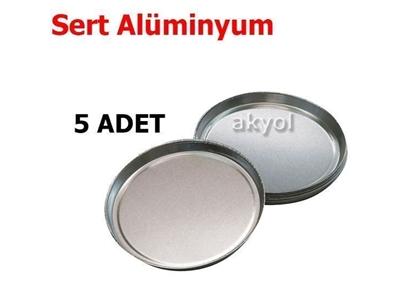 5 Adet Moc 63 Nem Tayin Cihazının Sert Alüminyum Numune Kabı