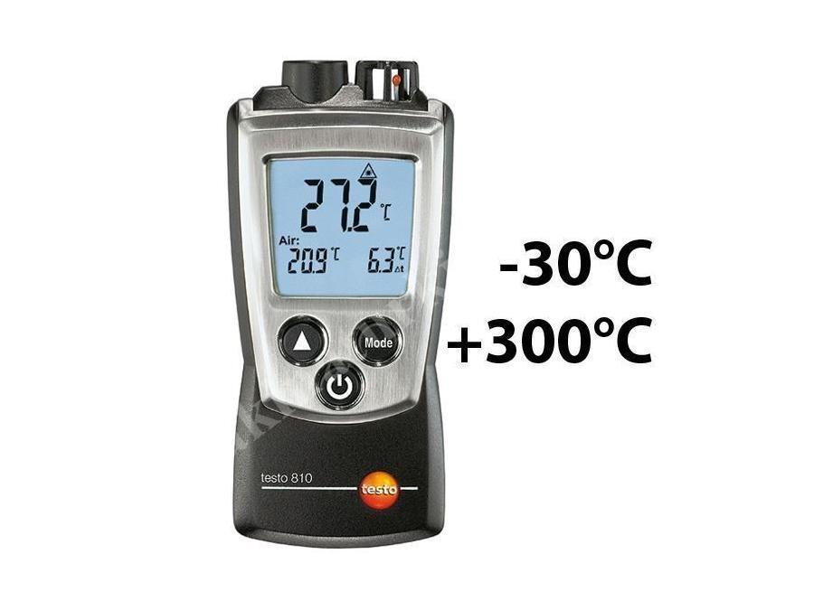 Lazerli Sıcaklık Ölçer Testo T810