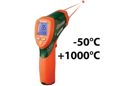 Çift Lazerli Uzaktan Sıcaklık Ölçer Extech 42512