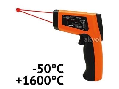 Kızılötesi Çift Lazerli Termometre Lyk 8016