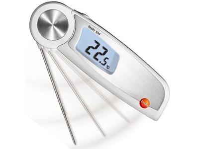 Su Geçirmez Katlanabilir Çubuk Termometre Testo T104