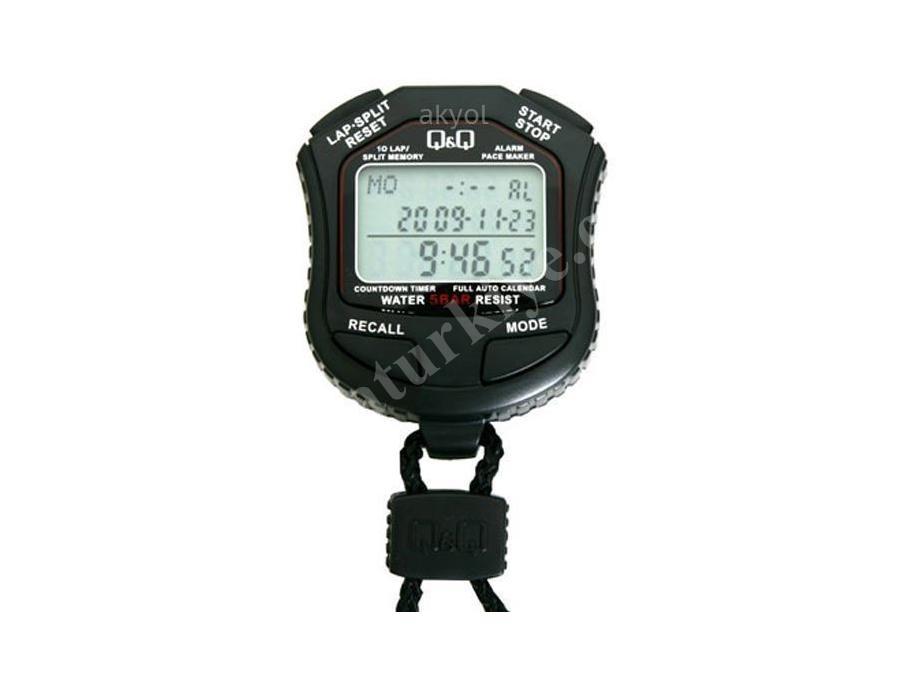 Japon Hs45 10 Lap Hafızalı Kronometre