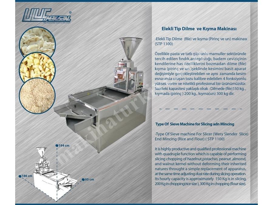 File Makinası - Fındık File Toz Pirinç Fındık File Makinası