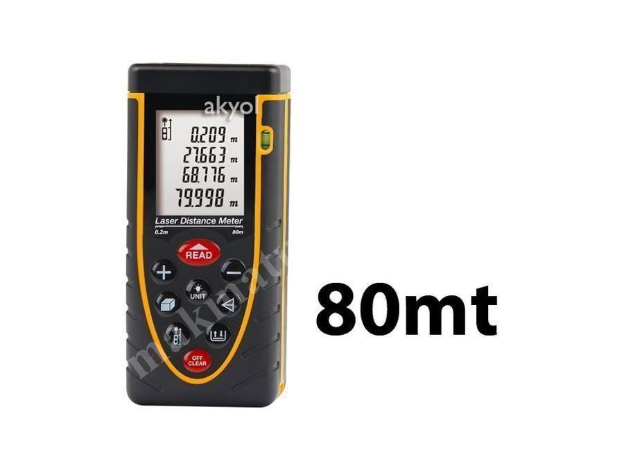 Lazermetre (80 Metre Ölçüm)