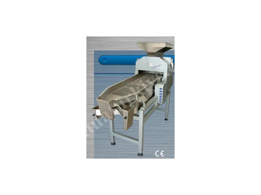 Kalibre Sistemli Kübik Kıyma Makinası Kapasite 500 Kg/Saat