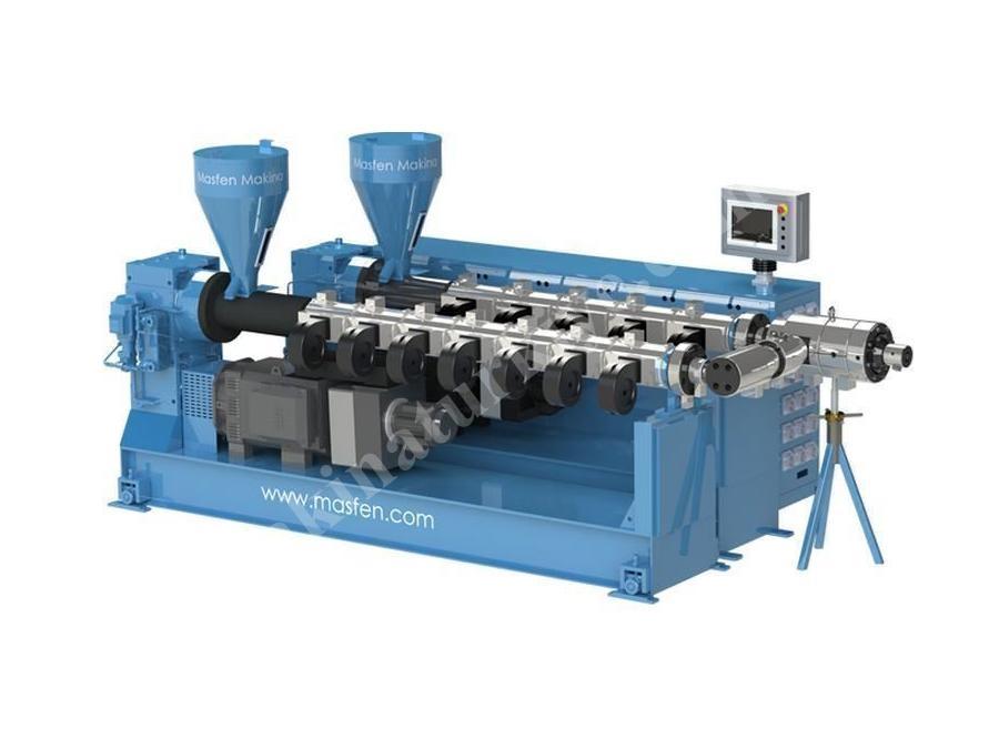 Plastik Boru Ekstruder Makinası Kapasite 180 Kg/H