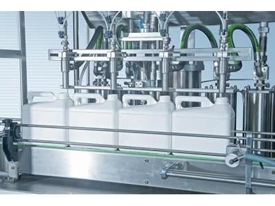 Otomatik 4'Lü Lineer Dolum Makinesi