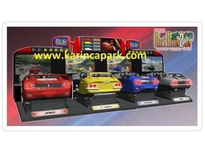 4'Lü Araba Yarış Simülatörü
