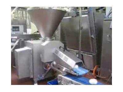 Tek Çıkışlı Kestart Hamur Kesme Makinası 60 ~ 100 Porsiyon / Dakika