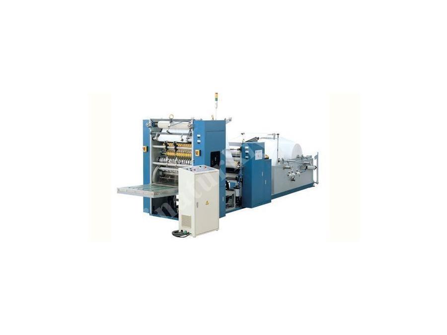 Kağıt Havlu Z Katlama Makinası 4000 Yaprak / Dakika
