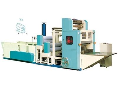 Kutu Mendil Katlama Makinası 1,600 Yaprak / Dakika