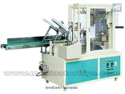 Otomatik Kutu Mendil Paketleme Makinası 30 Kutu / Dakika