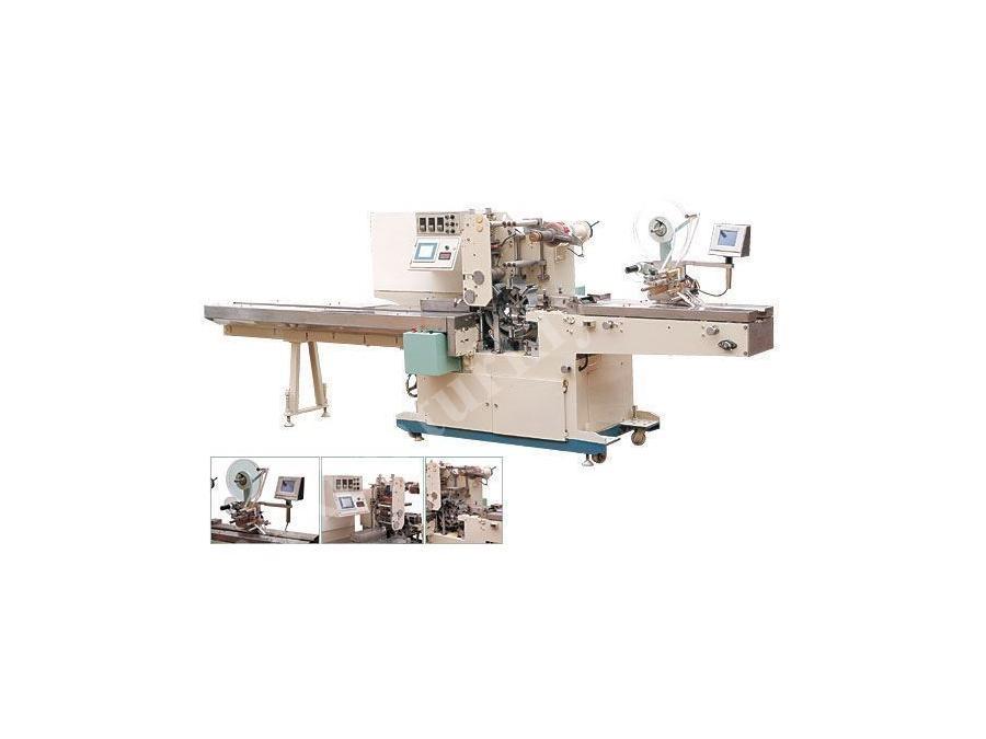 Otomatik Cep Mendili Paketleme Makinesi 70 Paket / Dakika