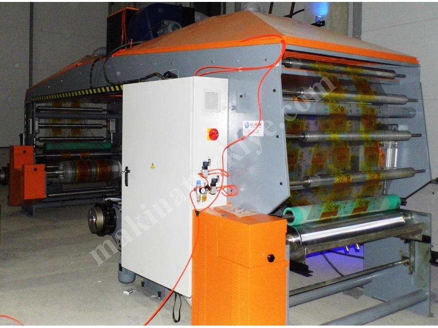 Solventli Ve Solventsiz Laminasyon Makinası
