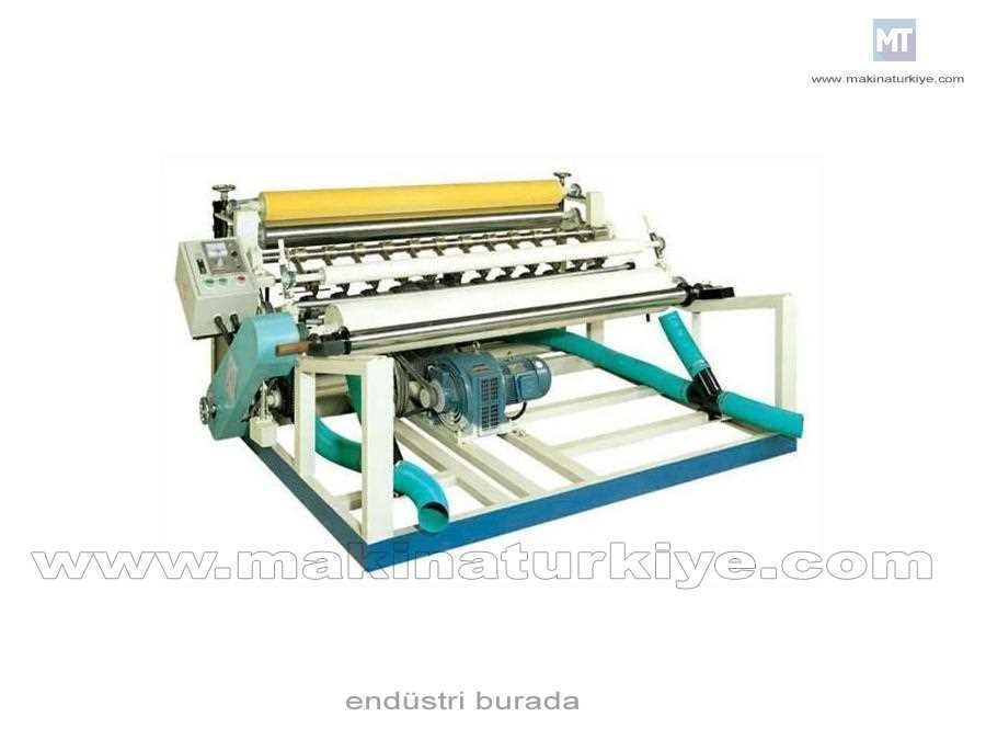 Tuvalet Kağıdı Kesme Makinası  1500 Metre / Dakika