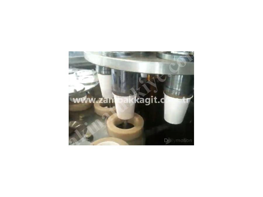 Karton Bardak Makinası 70 ~ 90 Adet / Dakika
