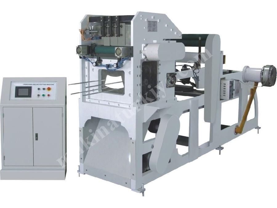 Otomatik Kağıt Bardak Kenar Kesme Makinası 160 ~ 250 Vuruş / Dakika