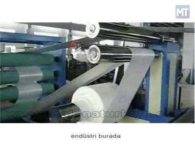 Polistren Köpük Tabaka Üretim Makinası 370 ~ 500 Kg / Saat
