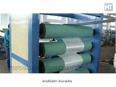 Polistren Köpük Tabaka Üretim Makinası 250 ~ 310 Kg / Saat