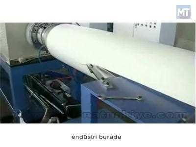 Polistren Köpük Tabaka Üretim Makinası 110 ~ 150 Kg / Saat