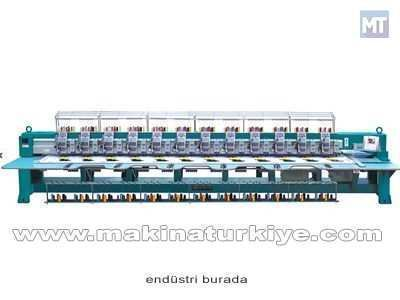 12 Kafalı Süzene Nakış Makinası (Geniş)