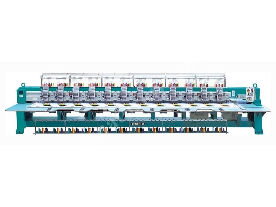 10 Kafalı Süzene Nakış Makinası Ggmj-6-910