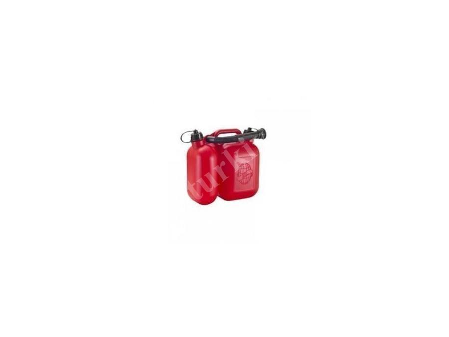 7,5 Litre İki Gözlü Benzin Bidonu