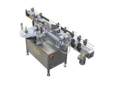 Yuvarlak Şişe Etiketleme Makinası 6500 Adet / Saat