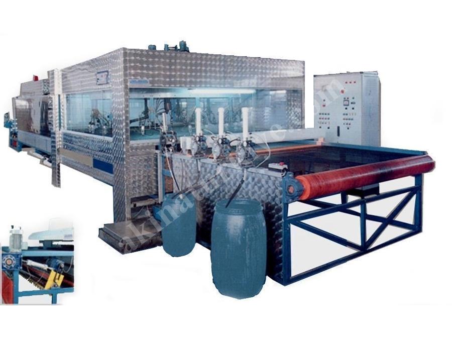 Ekolojik Tip Deri Boyama Makinası 3200 Mm