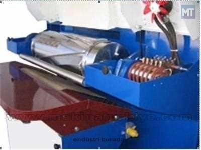 Deri Hidrolik Kürk Ütü Makinası