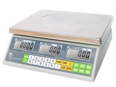 Fiyat Hesaplamalı Elektronik Terazi Ksp