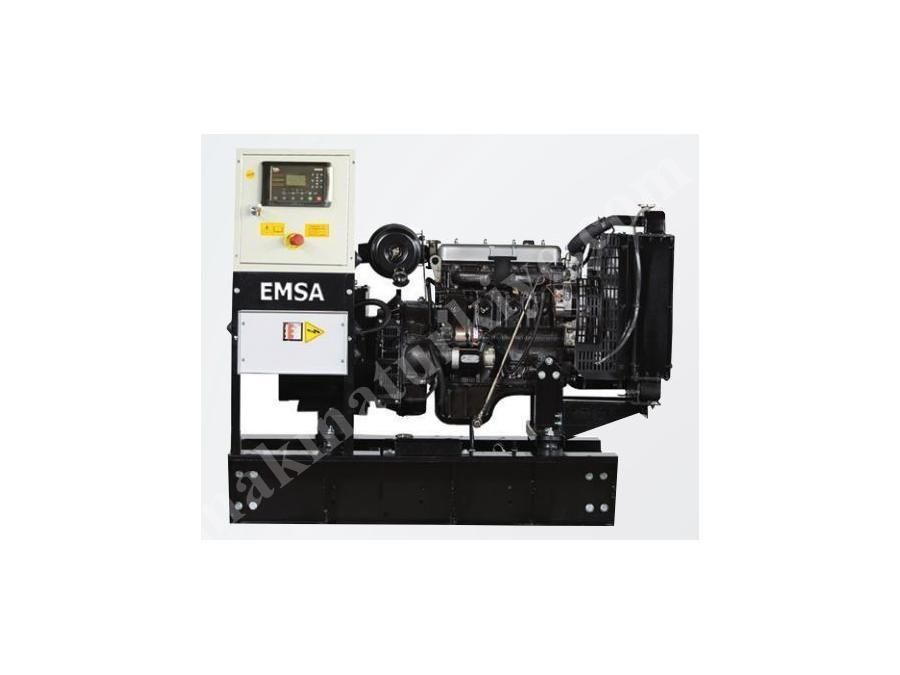 30 KVA Dizel Motorlu Jeneratör ( Emsa Motor )