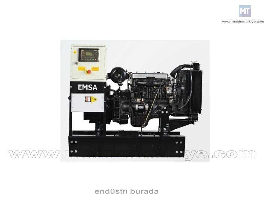 Dizel Motorlu Jeneratör 70 Kva ( Emsa Motor )
