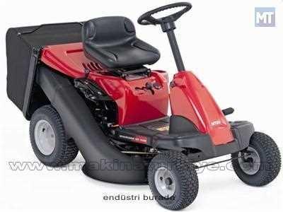 16 Hp Çim Biçme Traktörü Kesme Genişliği 92 Cm MTD-60RDE