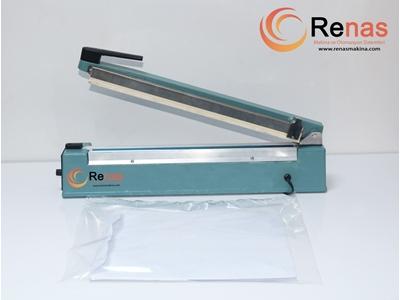 30 Cm Kesicili Poşet Ağzı Yapıştırma Makinası