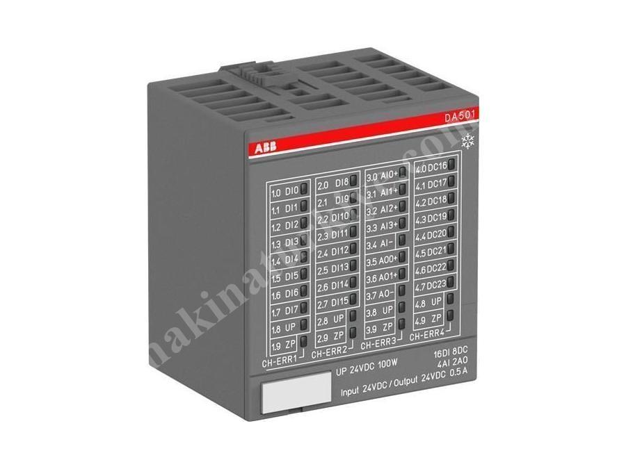 Plc Sistemi Enkoder Modülü Analog Giriş Çıkış Modülü 16 Ao Çıkış
