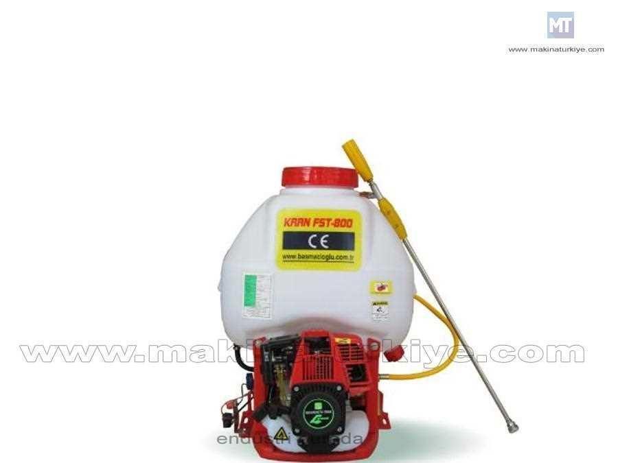 2 Hp Benzinli Sırt İlaçlama Makinası 480 Litre / Saat