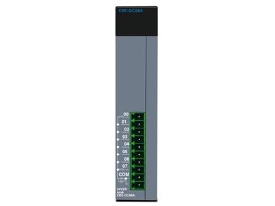 Plc Sistemi Kompak Yan Yüzeye Takılan İlave Modül Pnp Transistör 8 Çıkış
