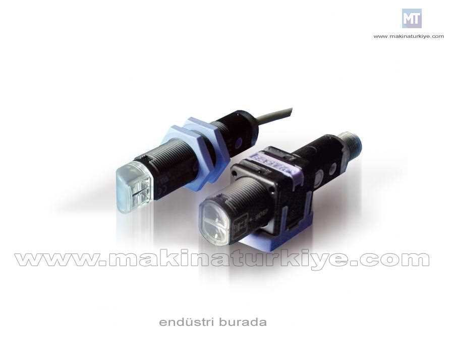 Polerize Reflektörlü Fotosel Mesafe 25 M, Metal 90, Npn L/D On, 2 M Kablo