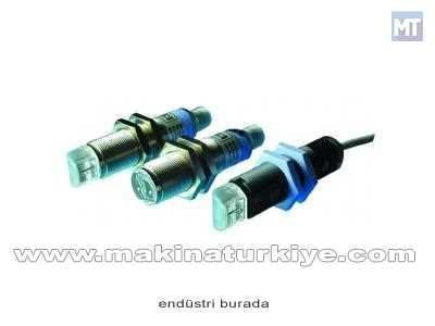 Karşılıklı Alıcı Fotosel Mesafe 18 Cm, Metal, 90 Npn L/D, 12-4 M Pin Kablo