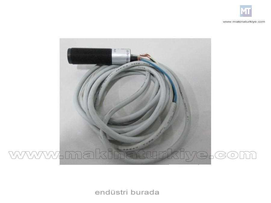 Reflektörlü Fotosel Mesafe 2 M, Plastik, 90* H, Scr Dark On 2 M Kablo