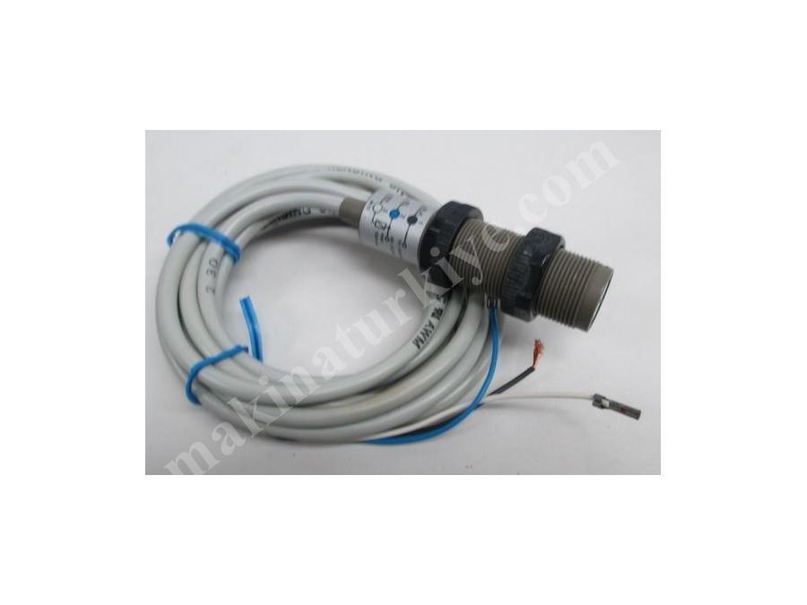 Cisimden Yansımalı Fotosel 8 Cm, Plastik, 90* H, Scr Dark On, 2 M Kablo