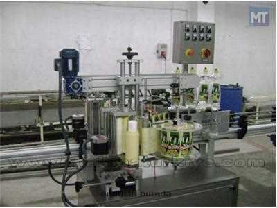 İki Yönlü Otomatik Etiketleme Ve Sarma Makinası 600 ~ 1000 Adet / Saat