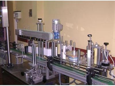 Tek Yönlü Otomatik Etiketleme Makinası 600 ~ 1000 Adet / Saat